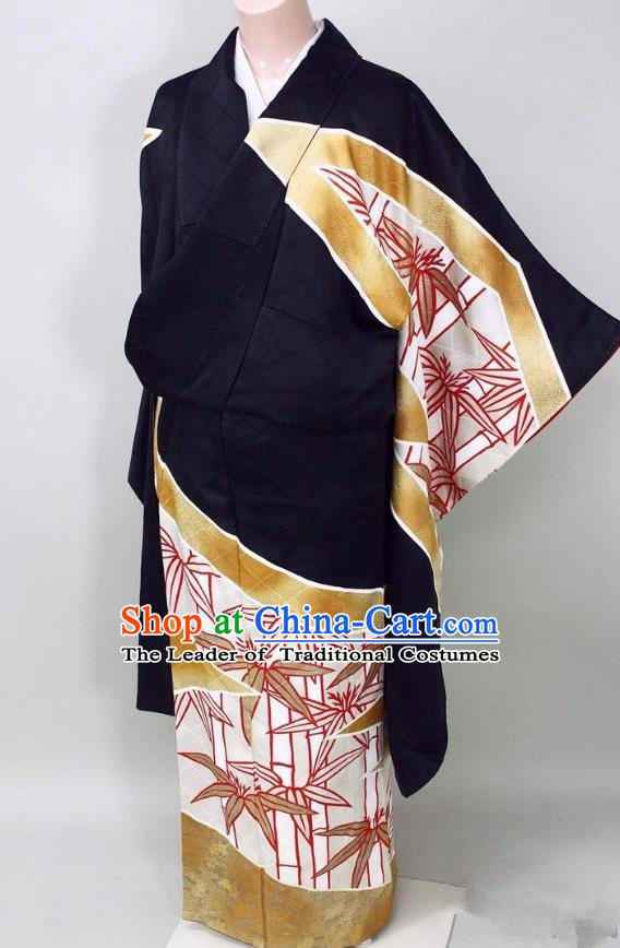 Asian Japanese Traditional Costumes Japan Kimono Yukata Bathrobe Clothing for Women