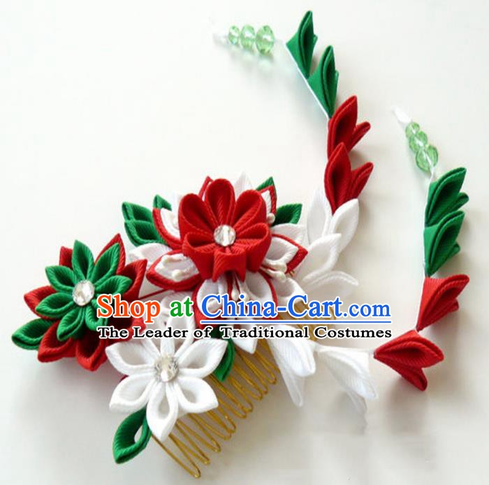 Asian Japanese Traditional Hair Accessories Japan Kimono Hairpins for Women