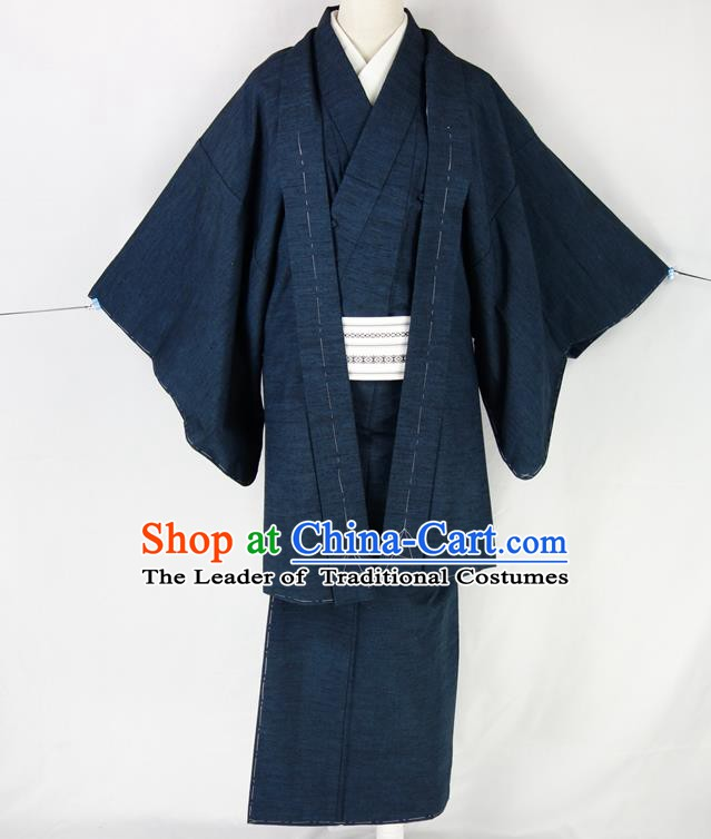 Asian Japanese Traditional Costumes Japan Kimono Yukata Clothing for Men