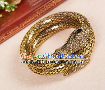 Indian Bollywood Belly Dance Accessories Golden Bracelet for Women