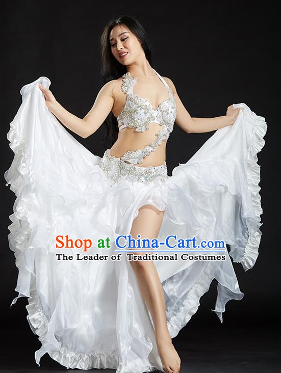 Traditional Indian National Belly Dance Bubble Dress India Bollywood Oriental Dance Costume for Women