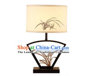 Traditional China Ancient Carving Orchid Desk Lanterns Handmade Lantern Ancient Lamp