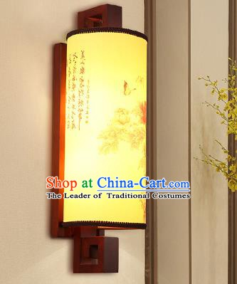 China Handmade Parchment Wall Lantern Painting Lanterns Traditional Lamp