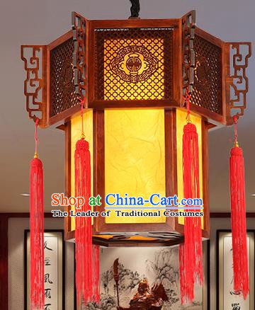 Traditional Chinese Handmade Palace Hanging Lantern Asian Ceiling Lanterns Ancient Lantern