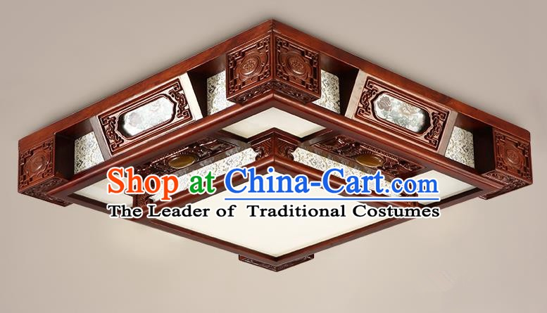 Traditional Chinese Handmade Wood Lantern Palace Lantern Ancient Ceiling Lanterns