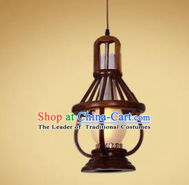 Traditional Chinese Handmade Palace Lantern Wood Lanterns Ancient Hanging Lamp