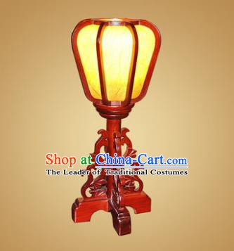 China Handmade Wood Desk Lanterns Palace Lantern Ancient Lanterns Traditional Lamp