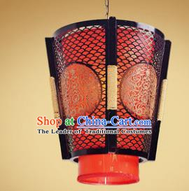 Traditional Chinese Handmade Red Palace Lantern New Year Hanging Lanterns Ancient Lamp