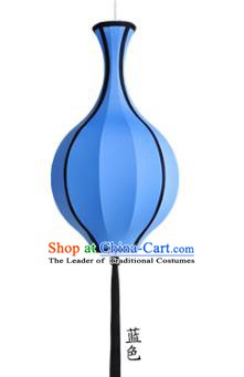 Top Grade Handmade Blue Vase Lanterns Traditional Chinese Hanging Palace Lantern Ancient Lanterns