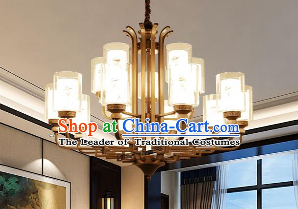 China Handmade Fifteen-Lights Ceiling Lanterns Traditional Chinese Palace Lantern Ancient Lanterns