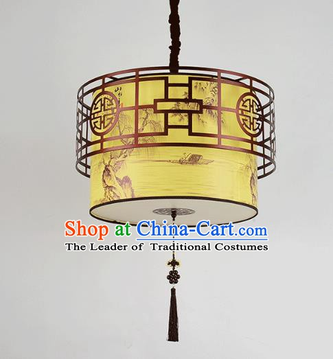 Top Grade Handmade Ceiling Lanterns Traditional Chinese Hanging Palace Lantern Ancient Lanterns