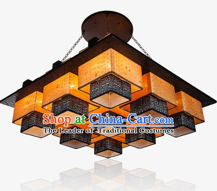 Top Grade Handmade Lanterns Traditional Chinese Palace Lantern Ancient Ceiling Lanterns