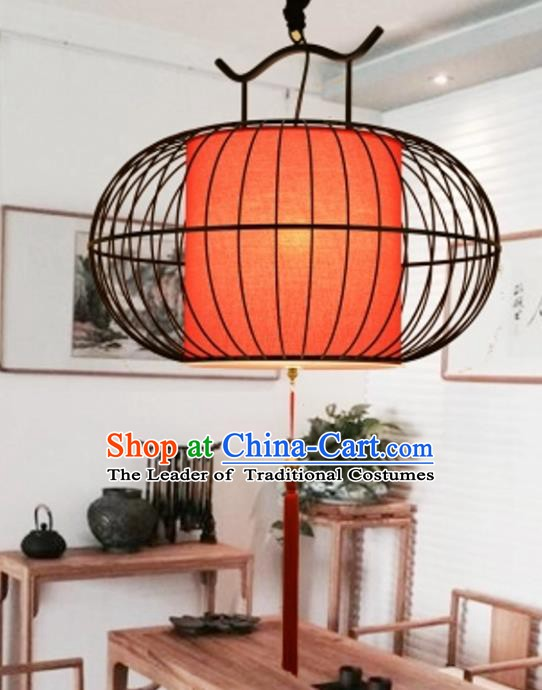 Top Grade Handmade Lanterns Traditional Chinese Red Hanging Palace Lantern Ancient Ceiling Lanterns