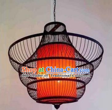 Top Grade Handmade Lanterns Traditional Chinese Iron Palace Lantern Ancient Ceiling Lanterns
