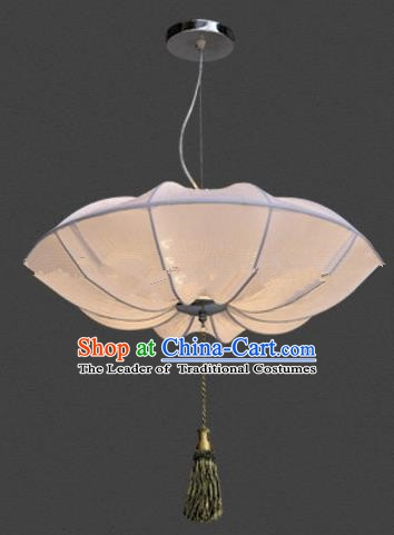 Top Grade Handmade Lotus Leaf Lanterns Traditional Chinese Palace Lantern Ancient Ceiling Lanterns