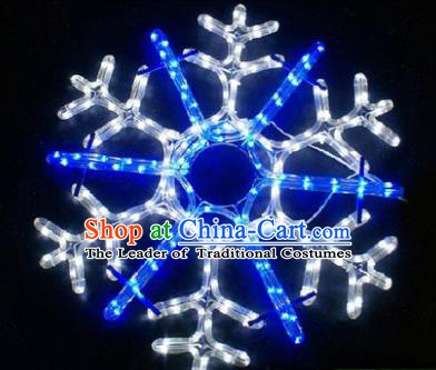 Handmade Stage Performance Lamplight Snowflake LED Lamp Lanterns