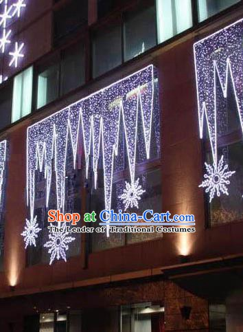 Handmade Stage Performance Lamplight Christmas Decorations LED Curtain Wall Lamp Lanterns