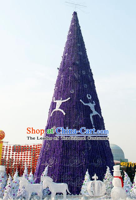 Handmade Stage Performance Lamplight Christmas Decorations LED Lamp Christmas Tree Lanterns