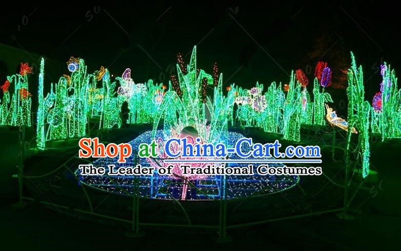 Traditional Light Show Decorations Lamps Stage Display Lamplight LED Lanterns