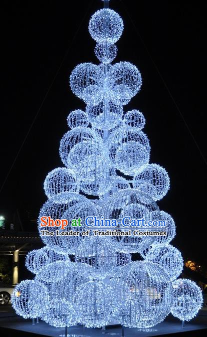 Handmade Spherical Shiny Christmas Tree Lights Lamplight Decorations LED Lamp Lanterns Bulb