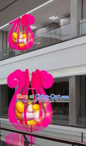Handmade China Traditional Spring Festival Decorations Lanterns Lamplight LED Lamp