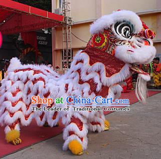 Professional Lion Dance Jongs Lion Dancing Zhuang Instrument Pieces Set Dragon Dance Costume Drum