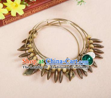 Indian Traditional Belly Dance Accessories India Raks Sharki Bracelet for Women