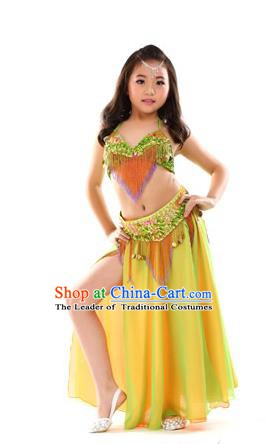 Traditional Asian Indian Belly Dance Costume Stage Performance India National Dance Dress Accessories Belts for Women
