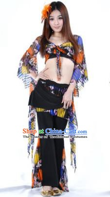 Traditional Indian Performance Oriental Dance Belly Dance Costume for Women