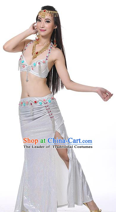 Egypt Belly Dance White Dress India Raks Sharki Oriental Dance Clothing for Women