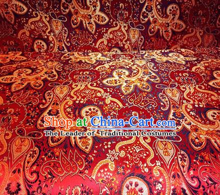 Chinese Traditional Fabric Palace Pattern Design Brocade Chinese Fabric Asian Material