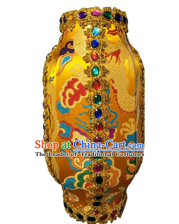 Traditional Chinese Handmade Ancient Lantern Crystal Lanterns Festival Lamps