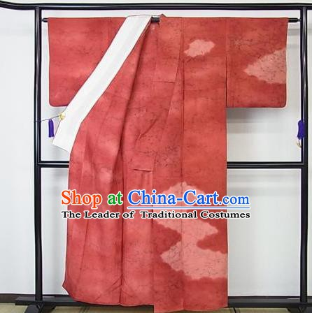 Japan Palace Lady Furisode Kimono Costume Traditional Japanese Wedding Yukata Dress for Women