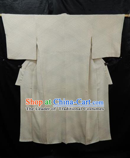 Japanese Traditional Yukata Japan Samurai Haori White Kimonos Robe Clothing for Men
