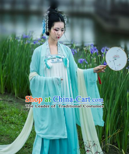 Traditional Ancient Chinese Costume Chinese Palace Wedding Dress Ancient Tang Dynasty Princess Hanfu Clothing