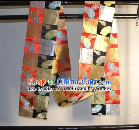 Traditional Japanese Kimono Belts Kimonos Yukata Brocade Waistband for Women