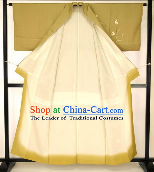 Japanese Vintage Kimono Formal Costume Haori Hakama Apparel Yukata Costume for Men