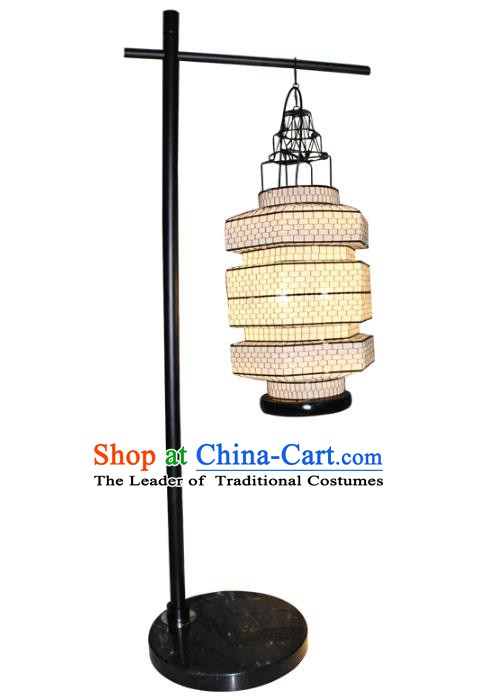 Handmade Traditional Chinese Lantern Floor Lamp hand Knitting Lanern New Year Lantern