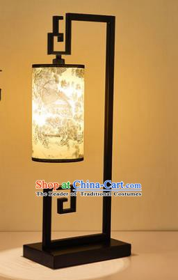Traditional Asian Chinese Lantern China Style Lamp Electric Palace Desk Lantern