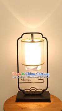 Traditional Asian Chinese Lantern China Ancient Ceramics Electric Desk Lamp Palace Lantern