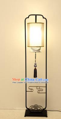 Traditional Asian Chinese Lantern China Ancient Ceramics Electric Floor Lamp Palace Lantern