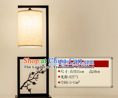 Traditional Asian Chinese Lantern China Ancient Electric Wintersweet Desk Lamp Palace Lantern