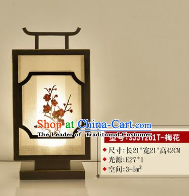 Traditional Asian Chinese Lantern China Ancient Electric Plum Blossom Desk Lamp Palace Lantern