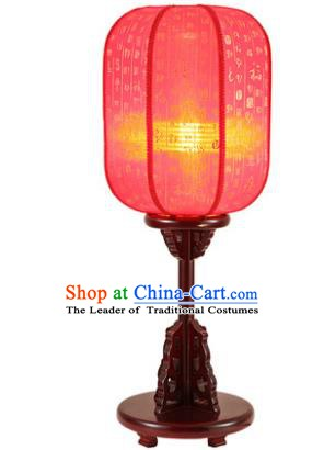 Traditional Asian Chinese Desk Lanterns China Ancient New Year Red Lamp Palace Lantern