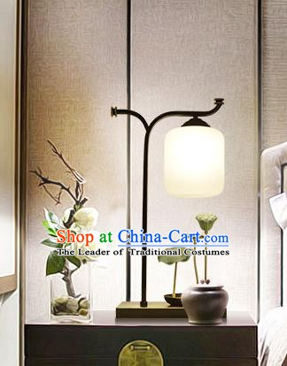 Traditional Asian China Style Lotus Lanterns Chinese Ancient Desk Lamp Palace Lantern