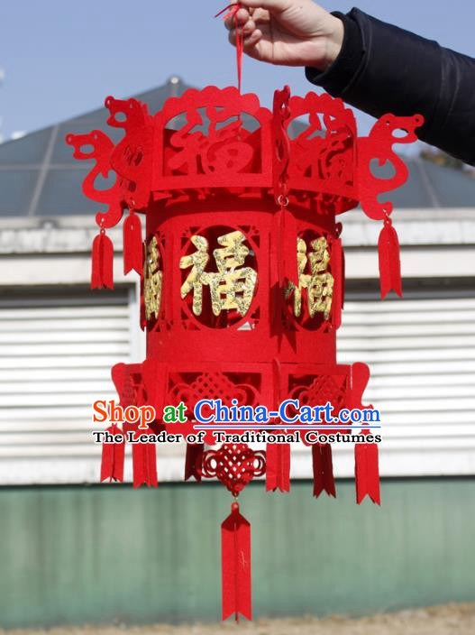 China Handmade New Year Lantern Traditional Lanterns Palace Portable Lamp