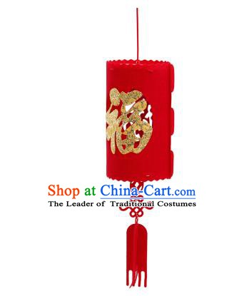 China Handmade Red Lantern Traditional New Year Lanterns Palace Portable Lamp