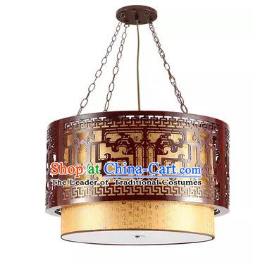 China Handmade Carving Ceiling Lantern Traditional Ancient Hanging Lanterns Palace Lamp