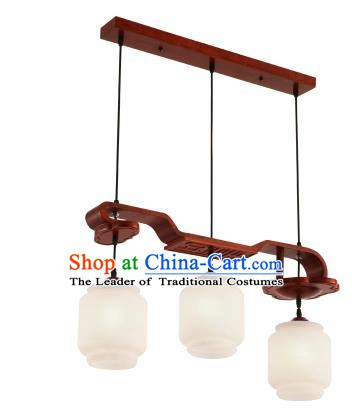 China Handmade Ceiling Lantern Traditional Ancient Wood Hanging Lamp Palace Lanterns