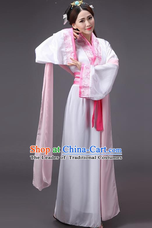 China Song Dynasty Princess Costume Ancient Theatre Performance Fairy Dress for Women